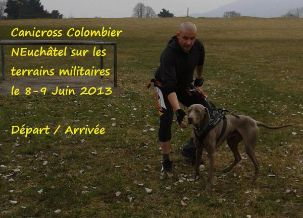 Canicross Colombier 2013.